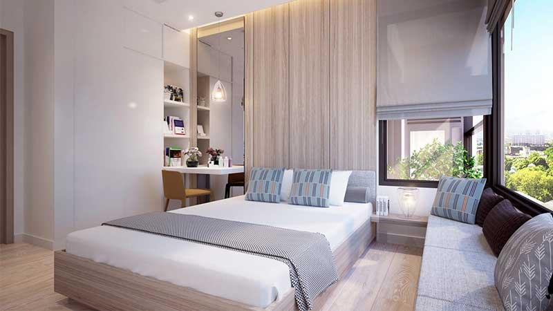 căn hộ 1 phòng ngủ Kingdom 101