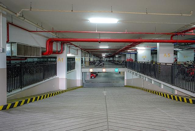 Hệ thống hầm giữ xe