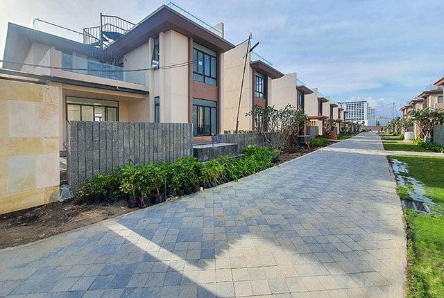Công tác thi công hoàn thiện hạng mục landscape khu M