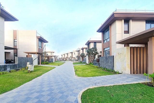 Công tác thi công hoàn thiện hạng mục landscape khu B