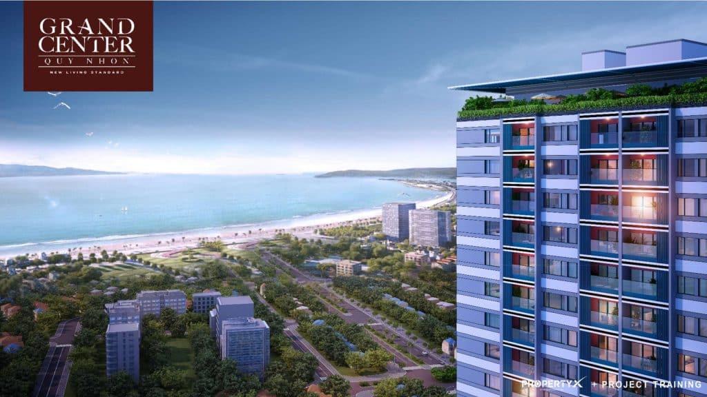 Grand Center sở hữu vị trí vàng đường Nguyễn Tất Thành