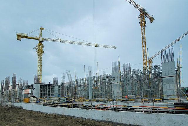 tiến độ xây dựngQ7 Riverside ngày 25/12/2019