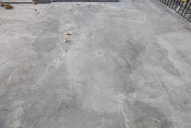 Hoàn thành đổ bê tông sàn tầng 6 block Mecury