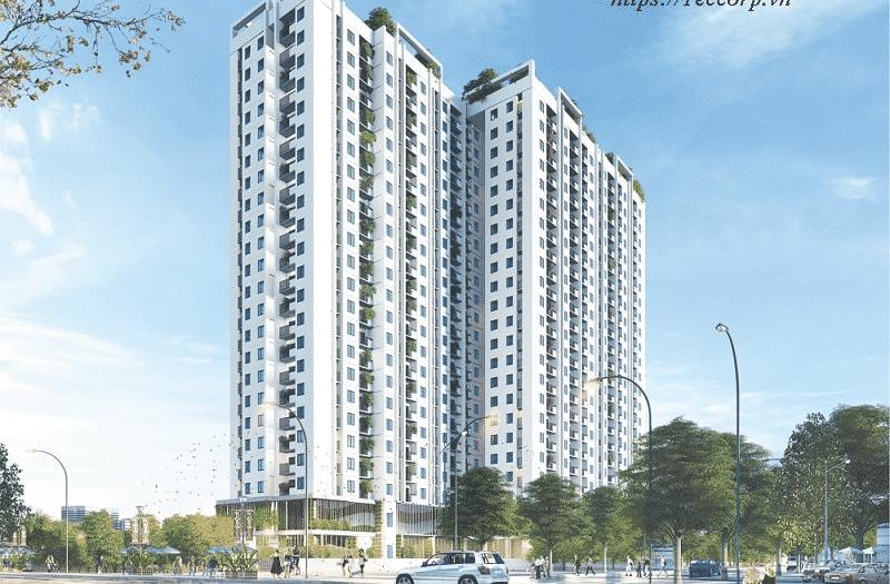 Phối cảnh dự án căn hộ Bình An Tower