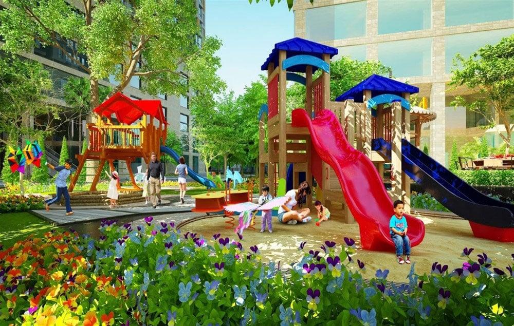 Tiện ích khu vui chơi dành cho trẻ em