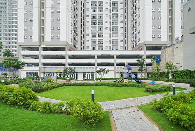 Hình ảnh cảnh quan công viên khu căn hộ