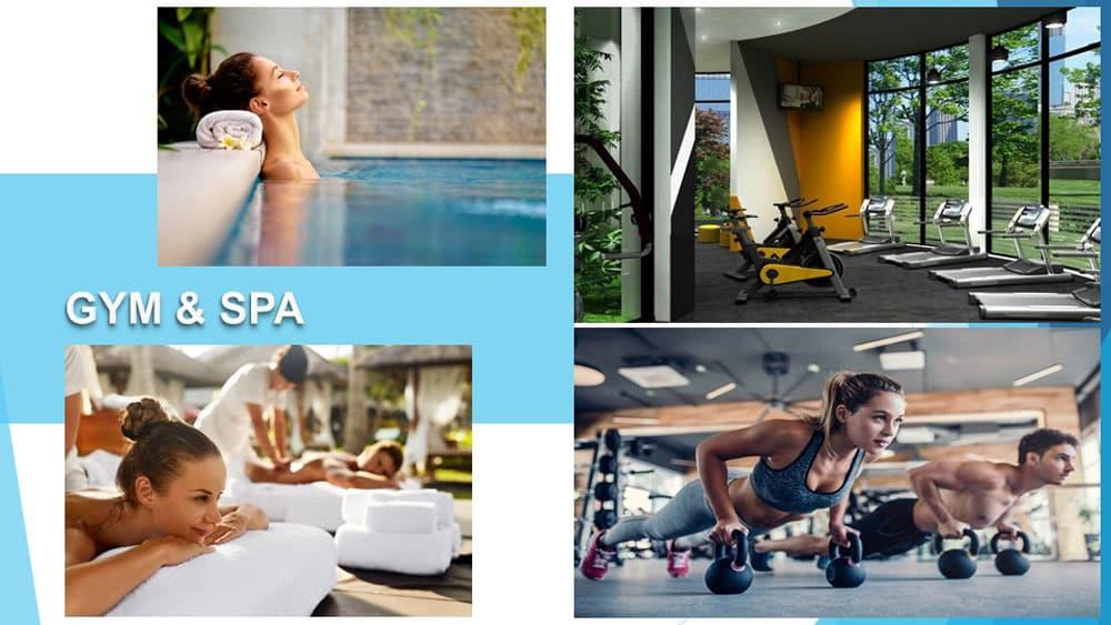 Tiện ích phòng tập Gym & Spa