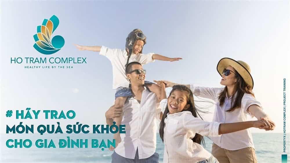 Căn hộ Hồ Tràm Complex là món quà sức khỏe quý giá cho người thân và gia đình bạn