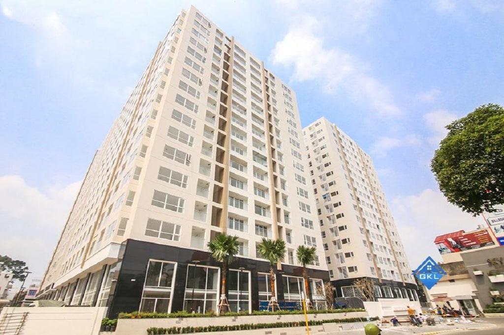 Thực tế dự án căn hộ Sky Center Tân Bình