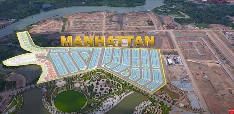 Mặt bằng tổng thể The Manhattan