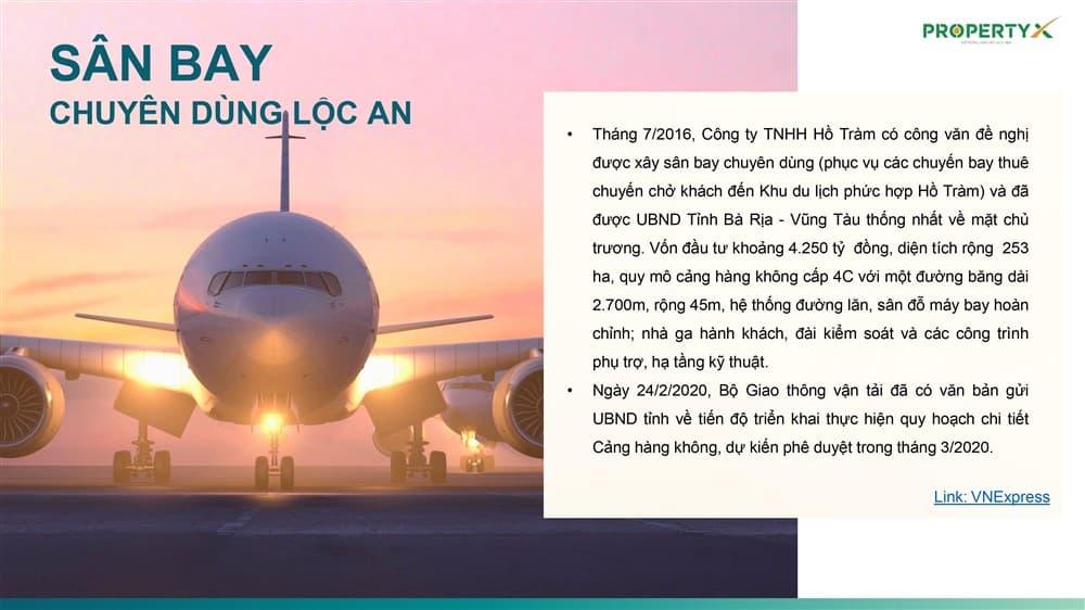 Sân bay chuyên dùng Lộc An
