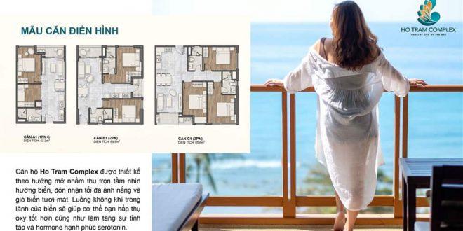 Mội căn hộ Hồ Tràm Complex đầu được thiết kế thông minh và độc đáo