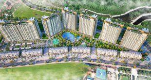 Phối cảnh tổng thể dự án Hồ Tràm Complex