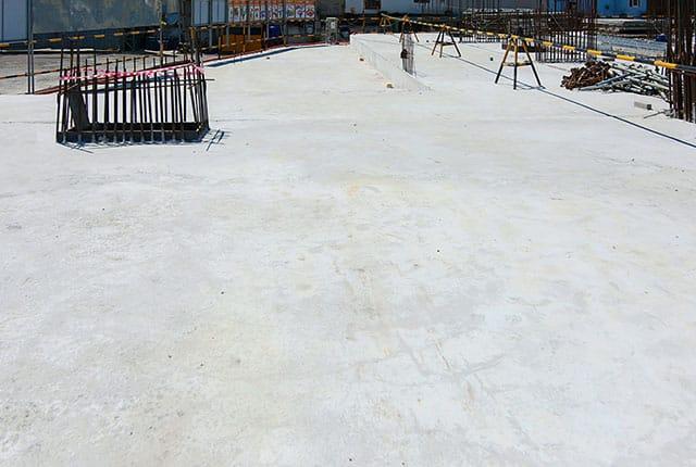 Hoàn thành đổ bê tông sàn tầng 1 Block A Lavita Charm