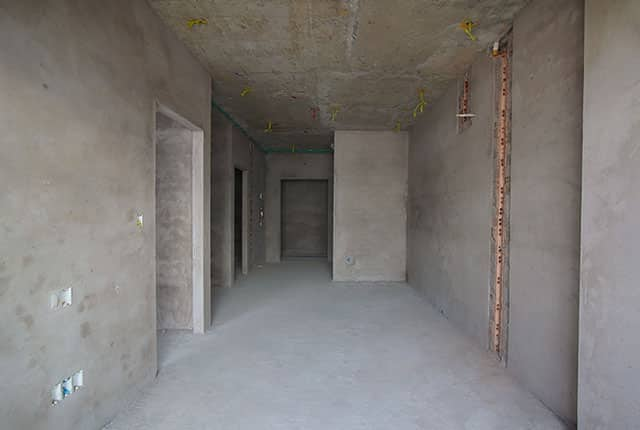 Tô tường căn hộ từ tầng 5 đến tầng 8 Block B và Block C