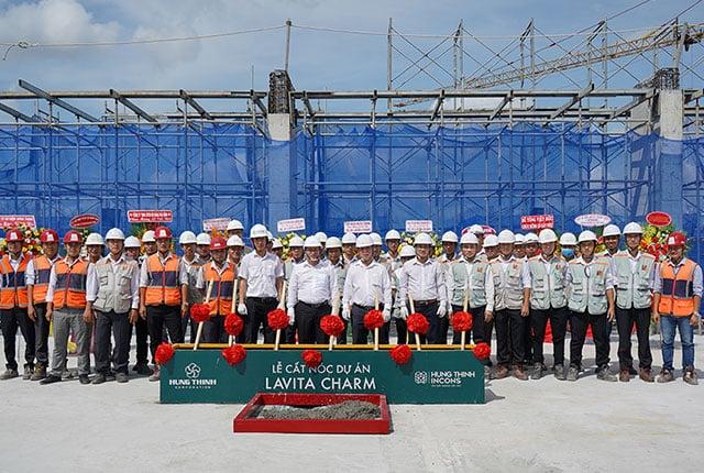 Cất nốc dự án Lavita Charm