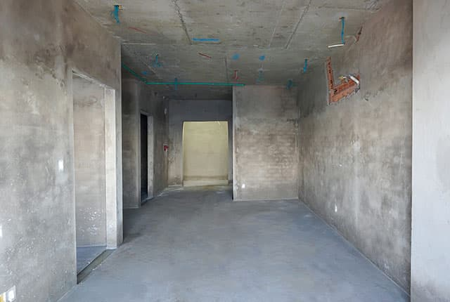 Tô tường căn hộ từ tầng 5 đến tầng 17 Block A1, Block A2, Block B và Block C