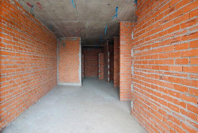 Xây tường bao căn hộ từ tầng 5 đến tầng 15 Block A1, Block A2, Block B và Block C