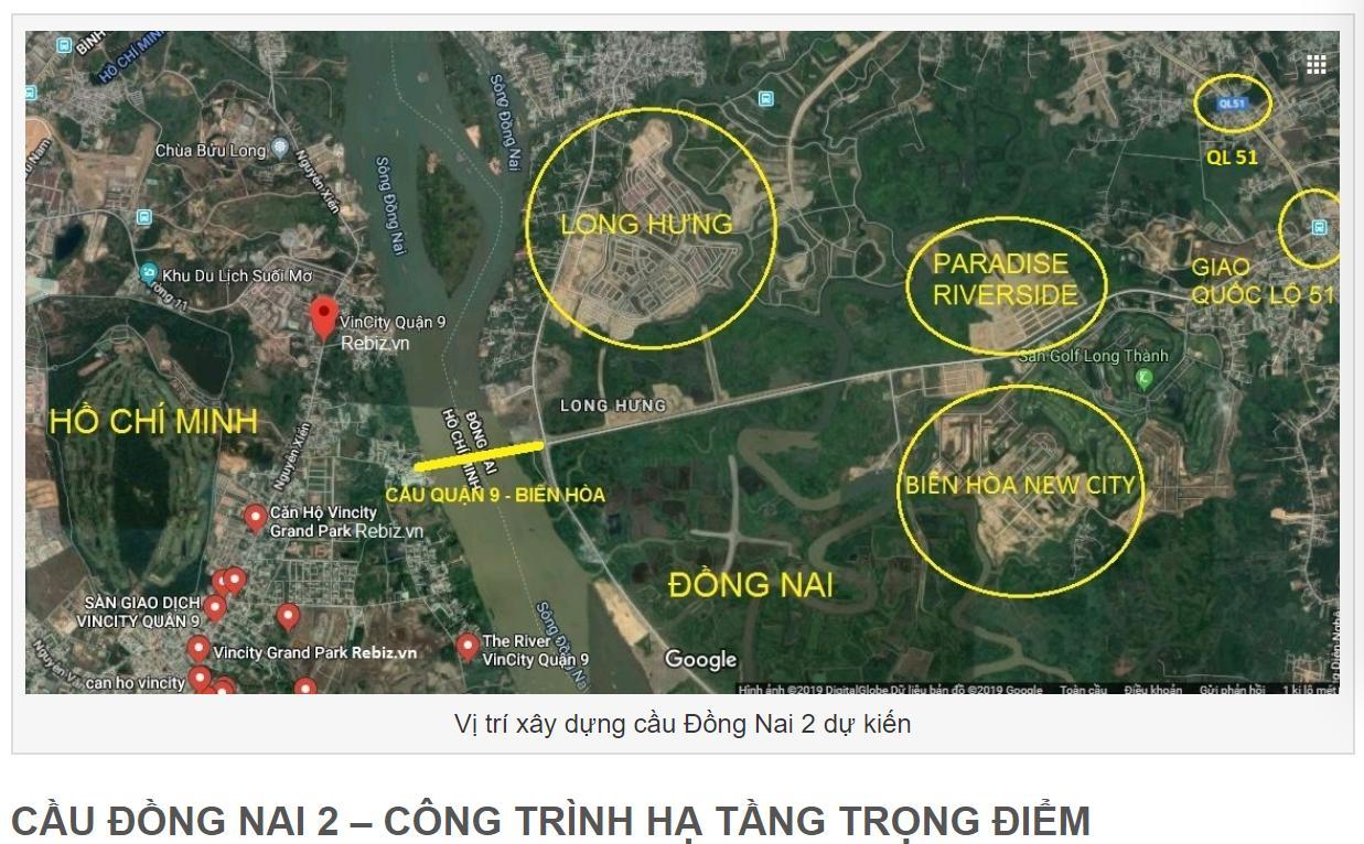 Cầu Đồng Nai 2 – Kết nối Quận 9 Biên Hòa với Sân bay Long Thành