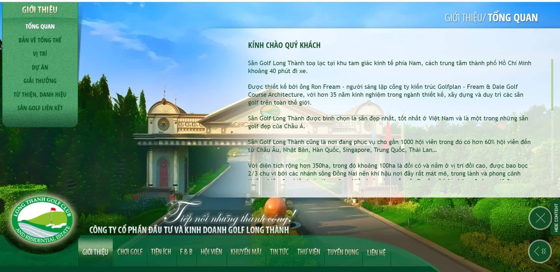 Sân Golf quốc tế Long Thành