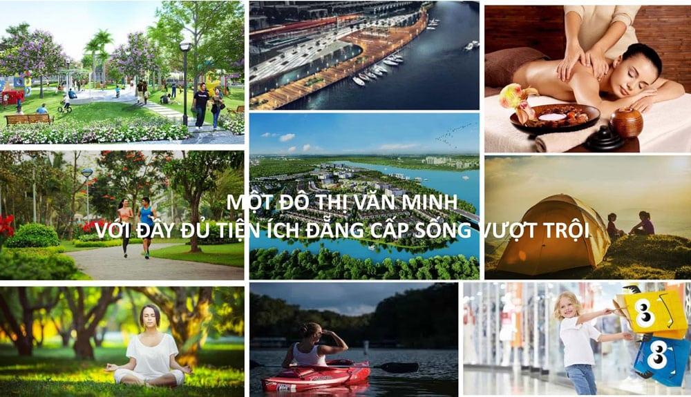 Tiện ích đẳng cấp vượt trội chỉ có tại Aqua City Đồng Nai