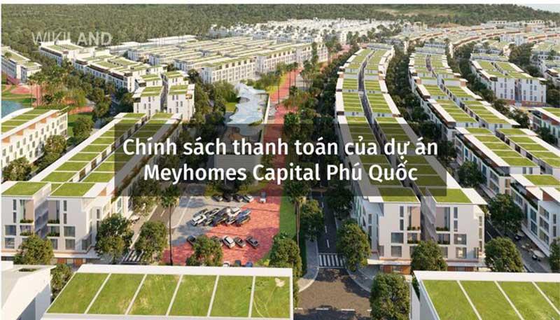 Chính sách thanh toán của Meyhomes Capital Phú Quốc