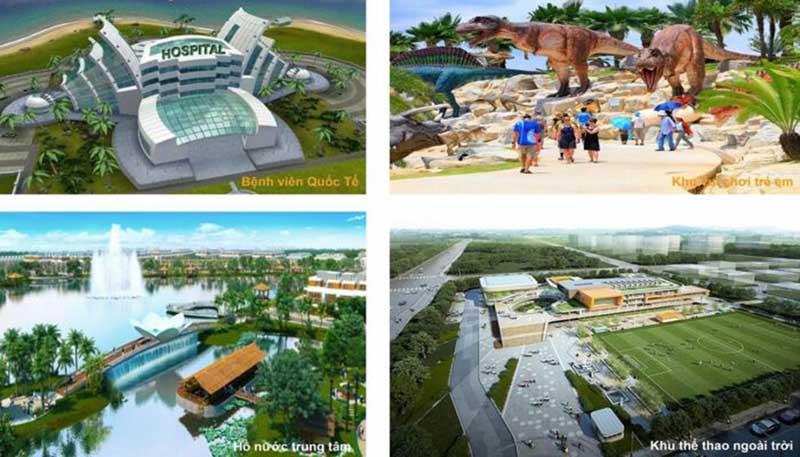 Meyhomes Capital Phú Quốc có nhiều tiện ích nội khu ấn tượng
