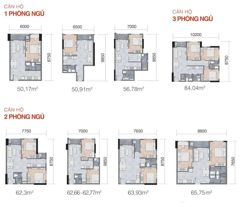 Bản vẽ thiết kế căn hộ NewGalaxy