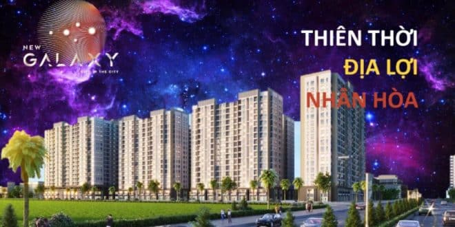 Dự án New Galaxy – tinh hoa hội tụ