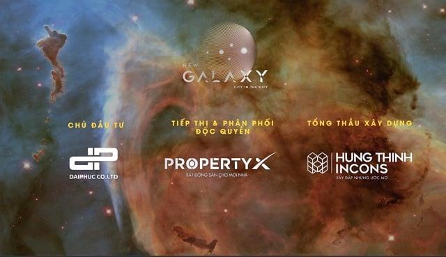 Các đơn vị trực tiếp thi công và chào bán căn hộ New Galaxy