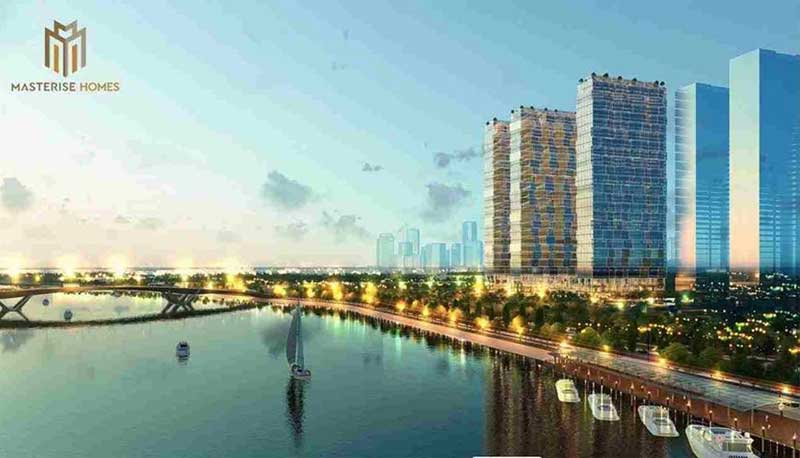 Phối cảnh Masterise Marina Central