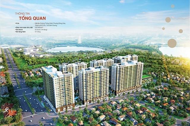 Dự án New Galaxy có quy mô lên tới 6 block, mỗi block cao từ 18-19 tầng và có tổng cộng 2000 căn hộ