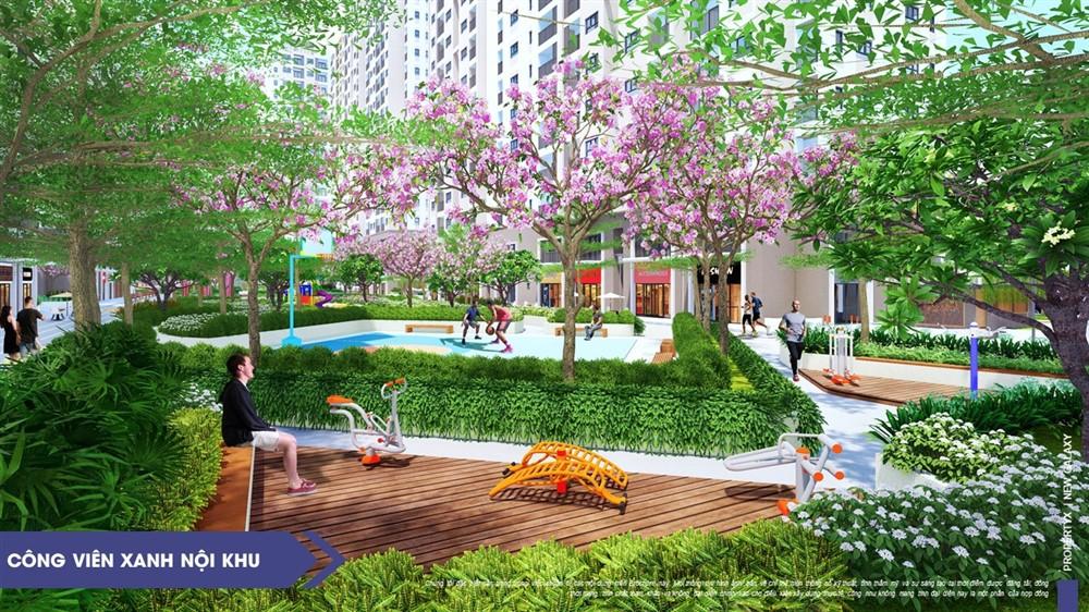 Mỗi phân khu chức năng khu căn hộ New Galaxy đều được thiết kế linh hoạt, thông minh