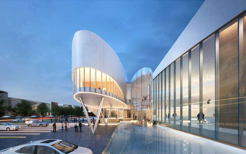 Thiết kế hiện đại mang thương hiệu Darkhorse Architecture