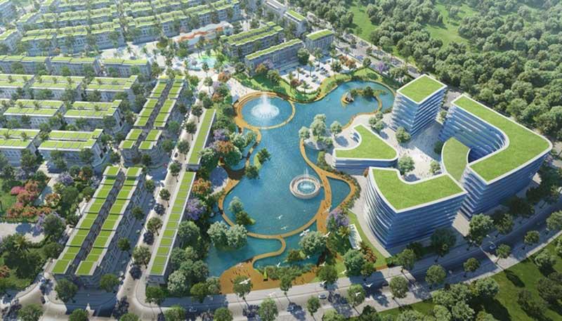 Không gian sống xanh, hiện đại tại Meyhomes Capital Phú Quốc