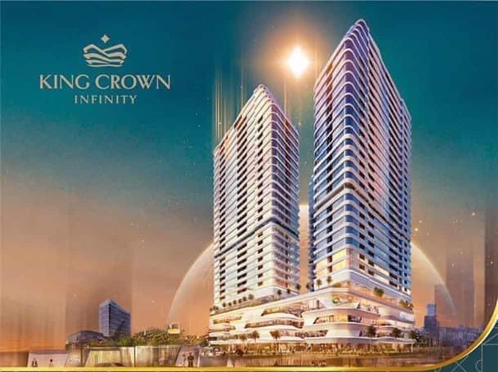 phối cảnh căn hộ king crown infinity
