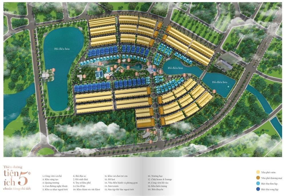 Khu đô thị cao cấp Vườn Xuân Lavida sở hữu nhiều tiện ích 5 sao
