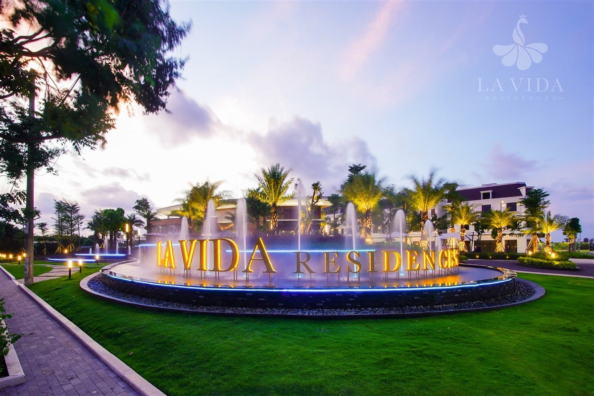 Cổng dự án Lavida Residences