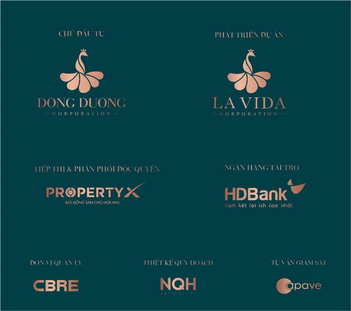 Các đơn vị chủ đầu tư và phát triển dự án Lavida Residences