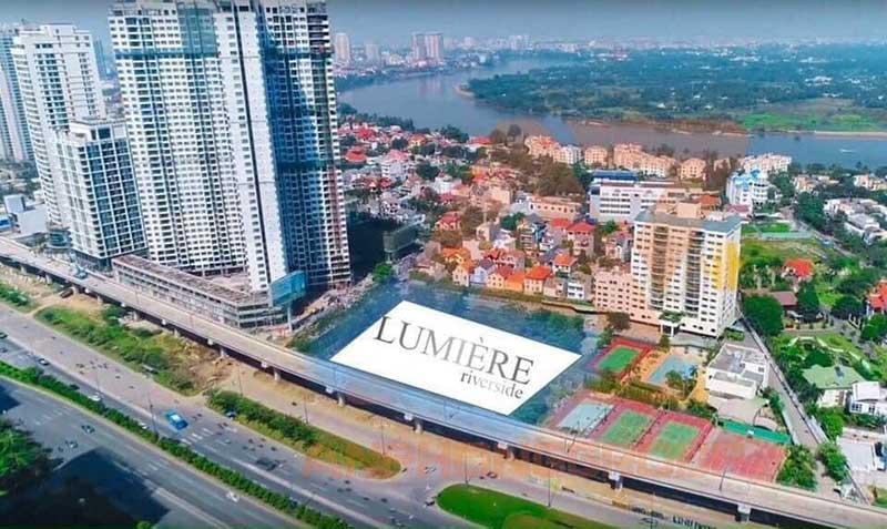 Vị trí dự án căn hộ Masterise Lumiere Riverside