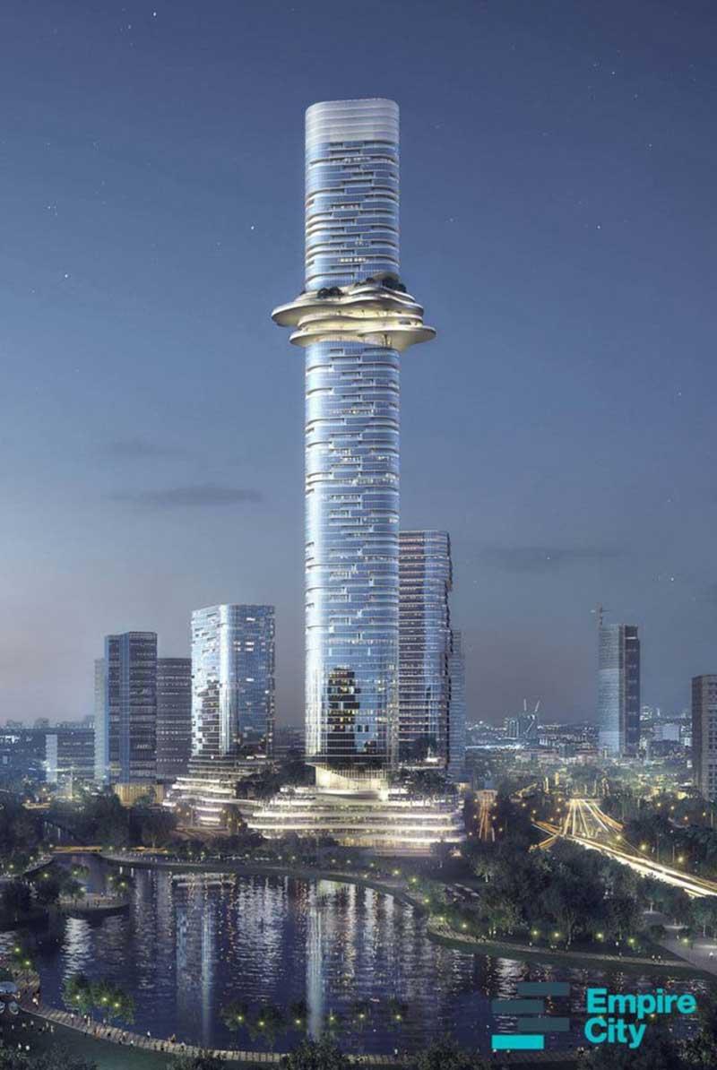Phối cảnh dự án Empire City