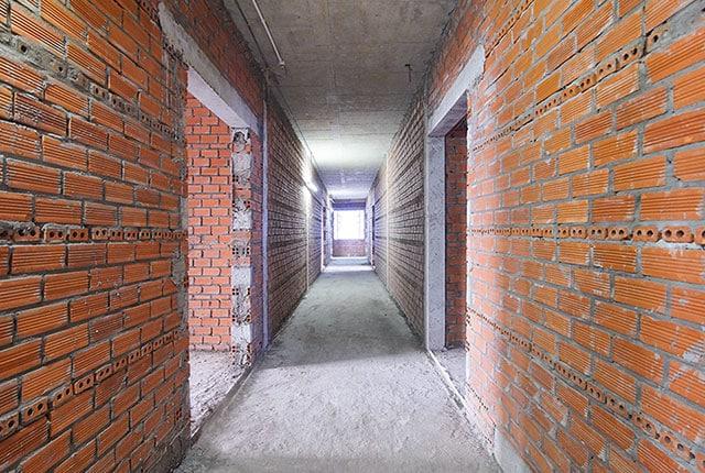 Xây tường căn hộ từ tầng 6 đến tầng 21 block Mecury và block Uranus