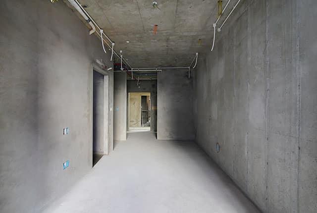 Tô tường căn hộ từ tầng 5 đến tầng 11 block Mecury và block Uranus