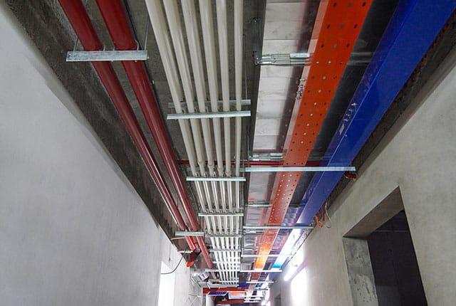 Lắp đặt hệ thống M&E từ tầng 6 đến tầng 8 block Mecury và block Uranus