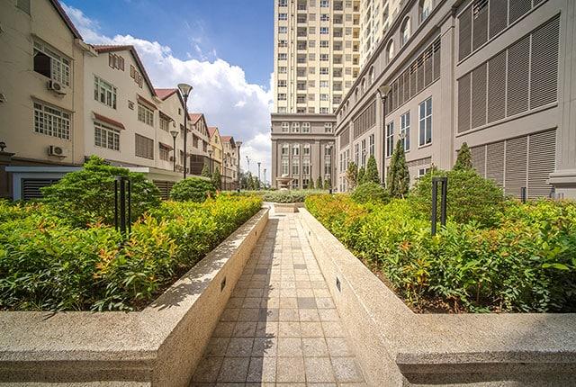 Công viên nội khu SaigonMia