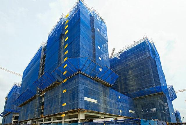 Tiến độ xây dựng tổng thể block Uranus dự án Q7 Riverside