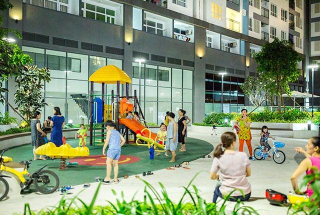 Công viên nội khu đã đưa vào phục vụ cư dân