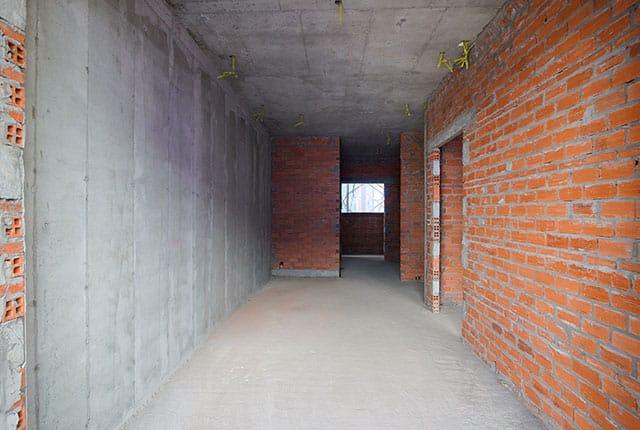 Xây tường căn hộ từ tầng 5 đến tầng 14 block Mecury và block Uranus