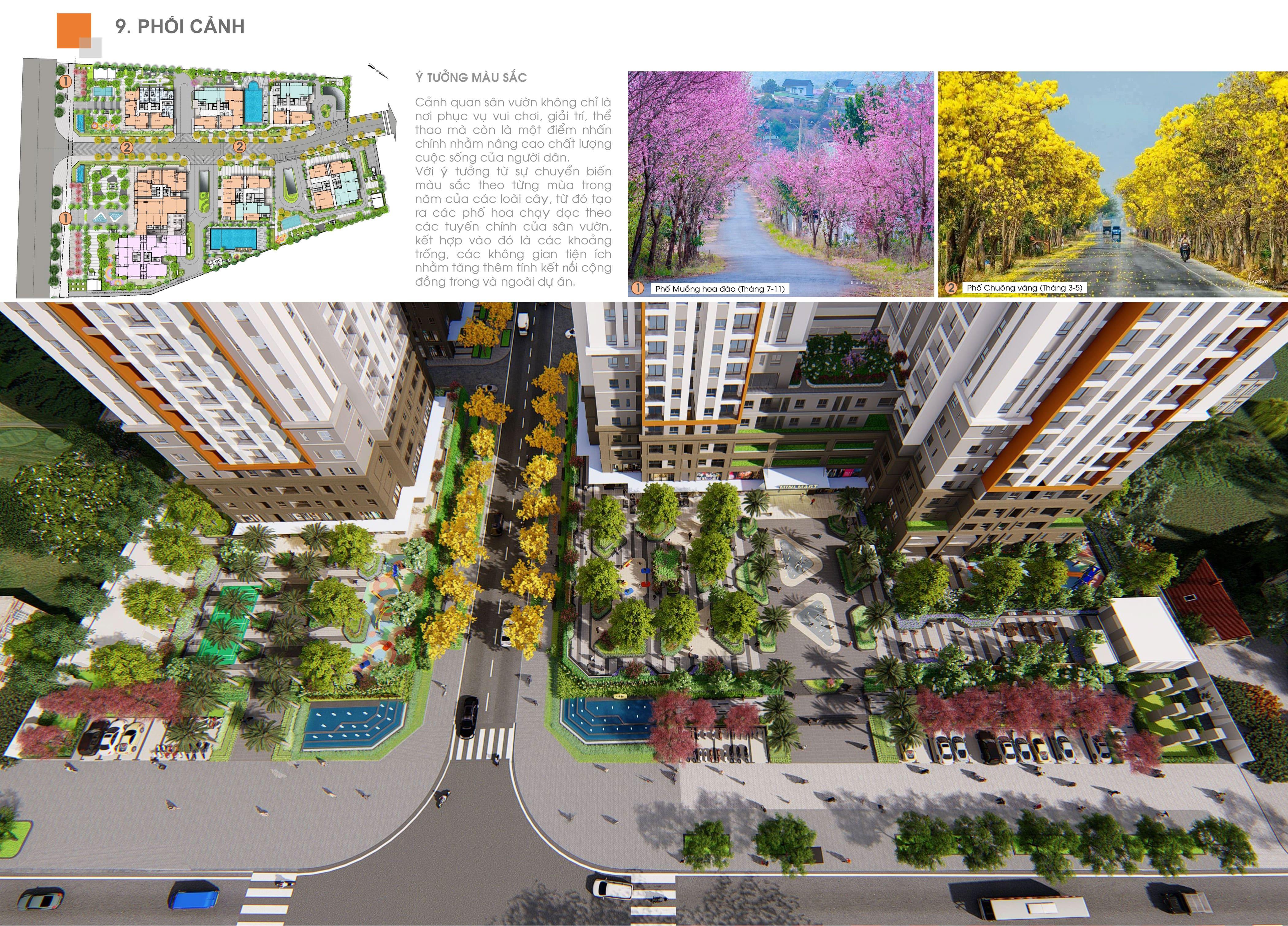 Tiện ích dự án Biên Hòa Universe Complex