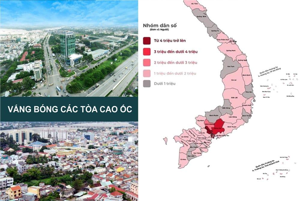 Biên Hòa là TP trực thuộc tỉnh đông dân nhất cả nước nhưng lại vắng bóng các tòa cao ốc